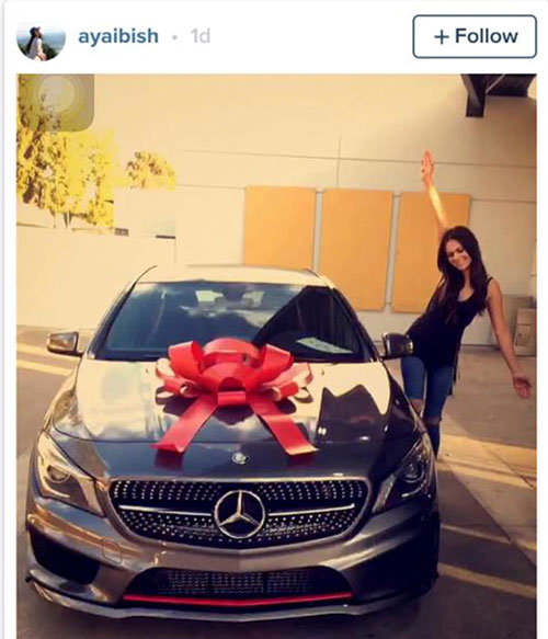 Aya Ibish deleted Instagram post