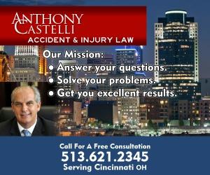 Tony Castelli Personal Injury Law Cincinnati