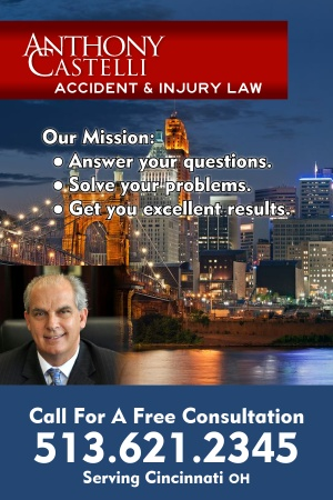 Tony Castelli Car Accident Lawyer Cincinnati OH