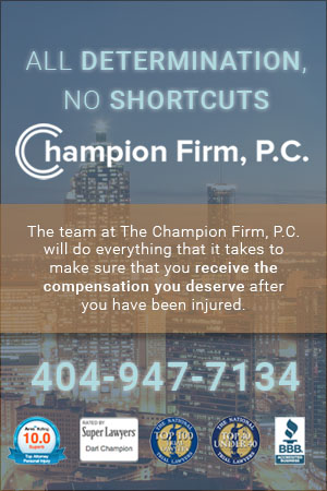 Champion Personal Injury Firm in Atlanta, GA