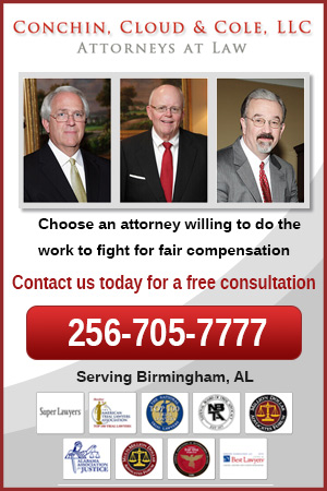 Conchin Cloud & Cole Personal Injury Attorneys serving Alabama