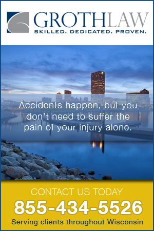 Jon Groth Law Firm | Wisconsin Injury | 855 434 5526