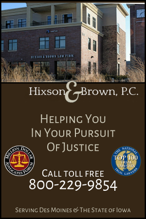 Hixson Brown Des Moines Iowa Personal Injury Lawyers