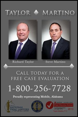 Taylor Martino injury attorneys
