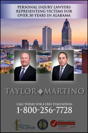 Taylor Martino Alabama Personal Injury Lawyers