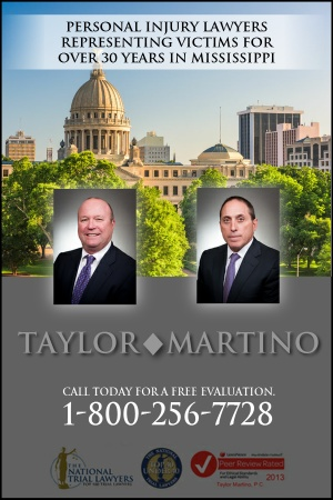 Taylor Martino Mississippi Personal Injury Lawyers